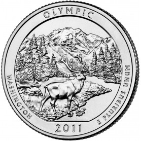 2011-D Olympic America The Beautiful Quarters National Park Quarters