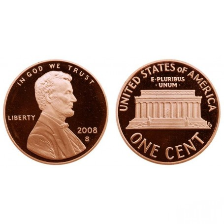 2008-S Lincoln Cent
