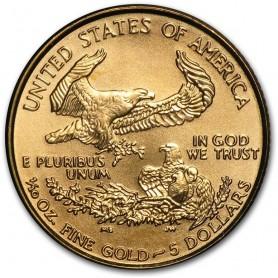 1/10 oz. Gold Eagle Random Year