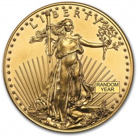 1 oz. Gold Eagle Random Year