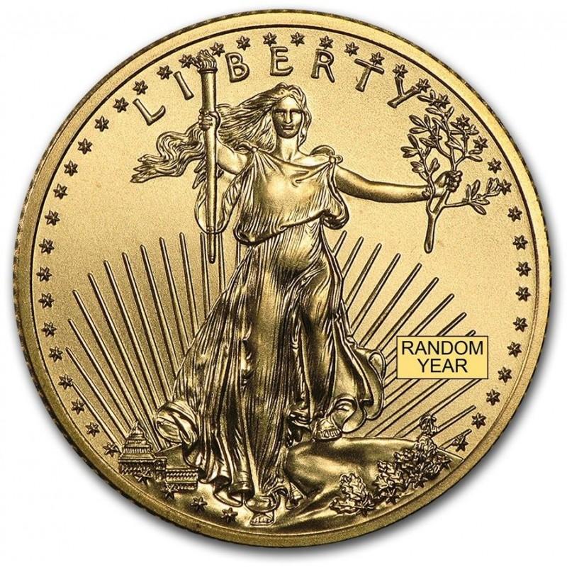 1/4 oz. Gold Eagle Random Year