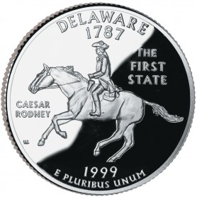 1999-S Delaware Proof State Quarter