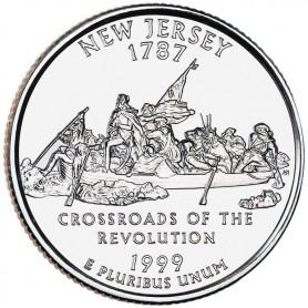 1999-D New Jersey State Quarter