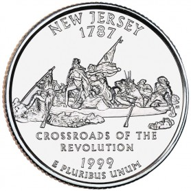 1999-P New Jersey State Quarter