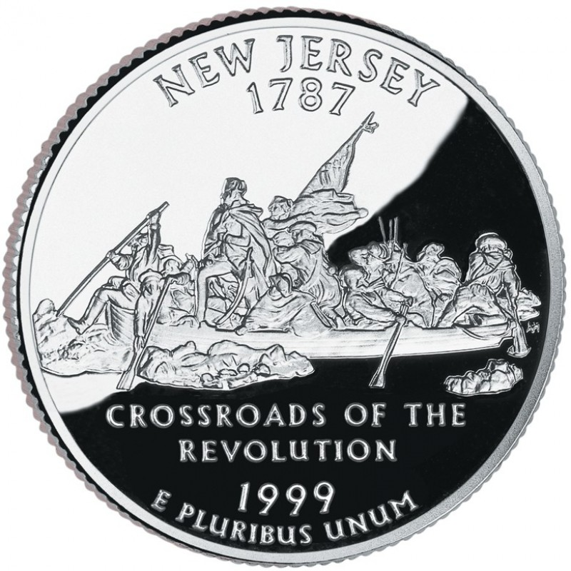 1999-S New Jersey Silver Proof State Quarter