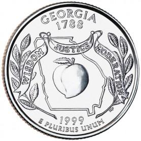 1999-D Georgia State Quarter