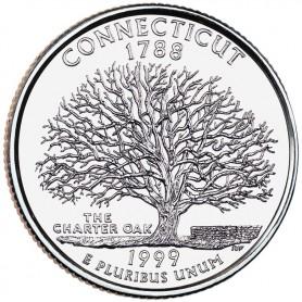 1999-P Connecticut State Quarter