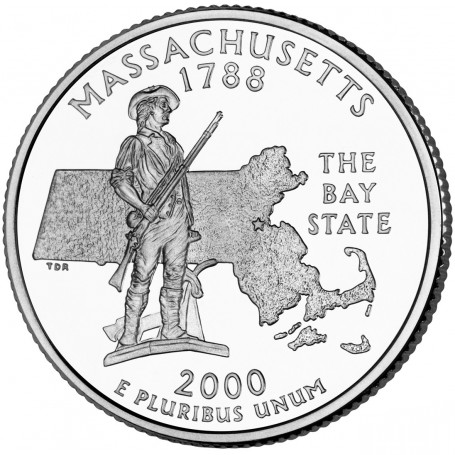 2000-P Massachusetts State Quarter