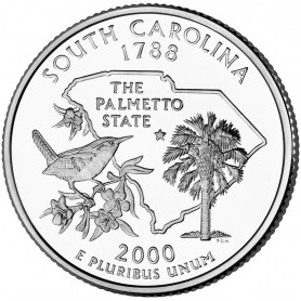 2000-D South Carolina State Quarter