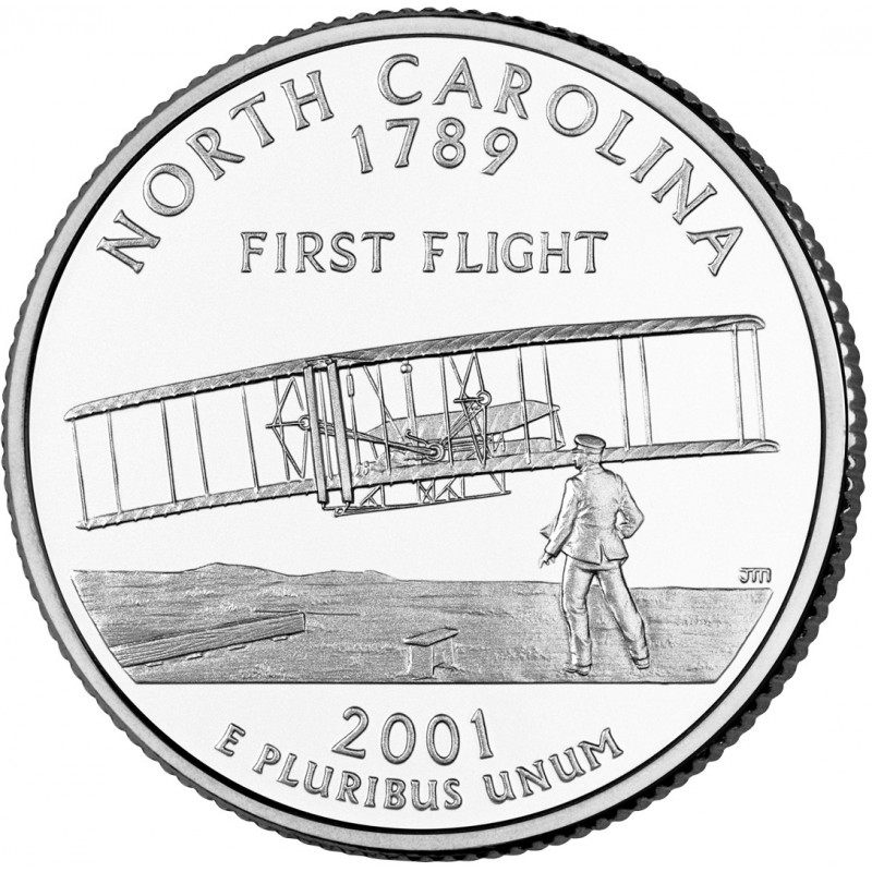 2001-P North Carolina State Quarter