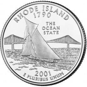 2001-D Rhode Island State Quarter