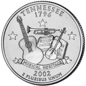 2002-P Tennessee State Quarter