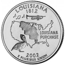 2002-D Louisiana State Quarter