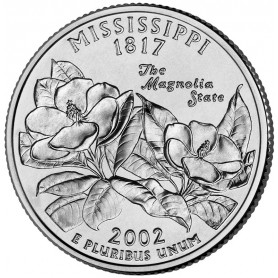 2002-D Mississippi State Quarter