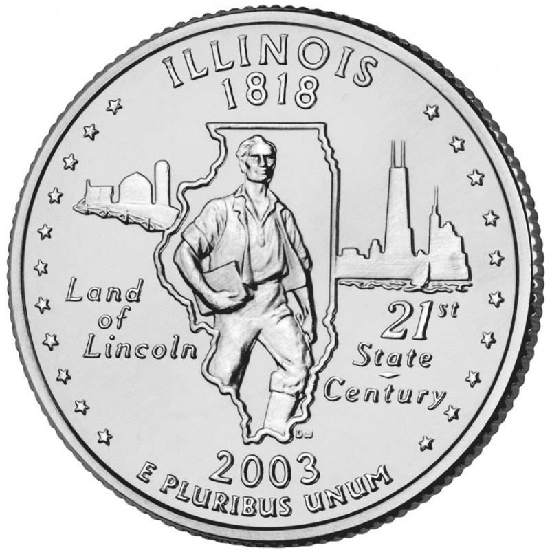 2003-D Illinois State Quarter