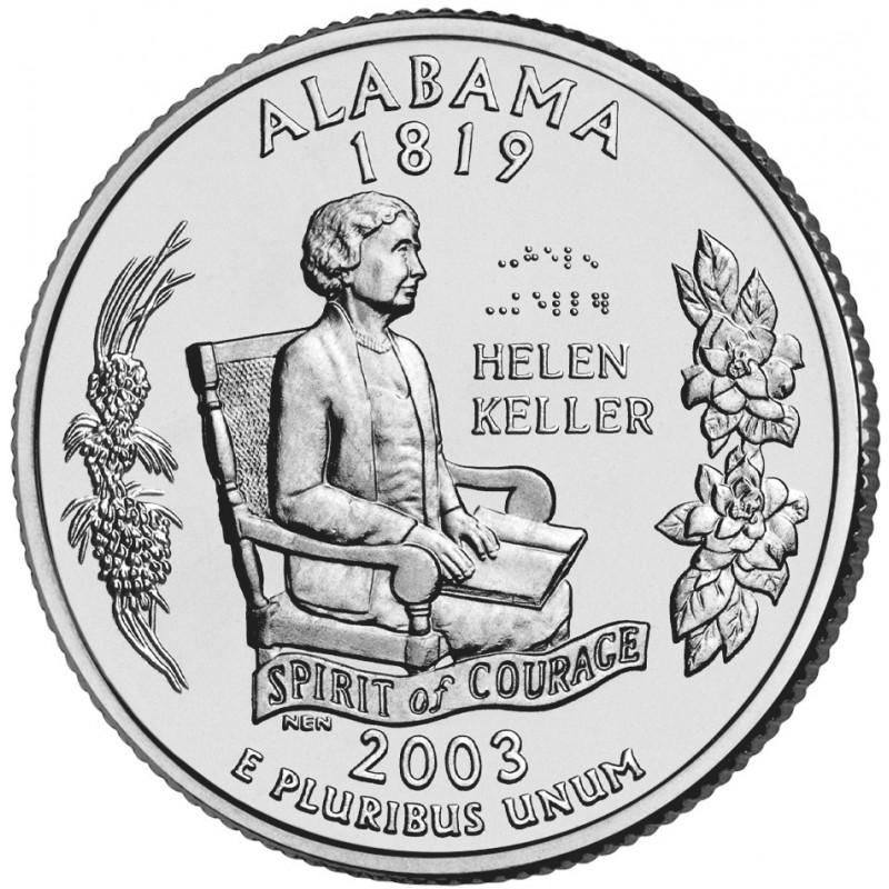 2003-P Alabama State Quarter
