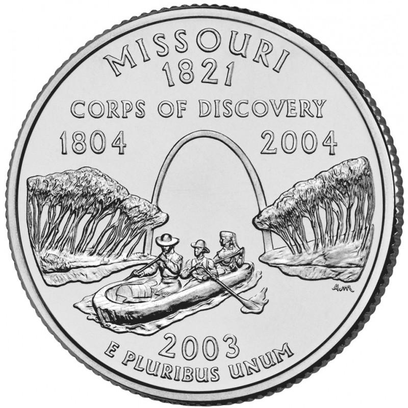 2003-D Missouri State Quarter