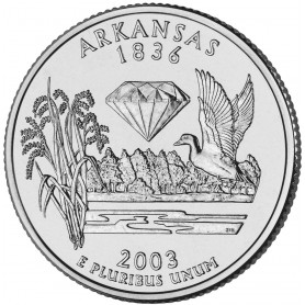 2003-P Arkansas State Quarter