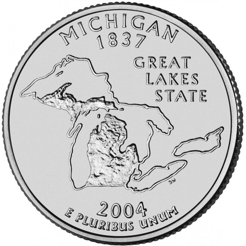 2004-P Michigan State Quarter