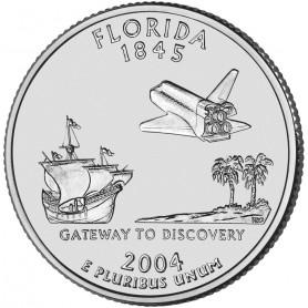 2004-D Florida State Quarter