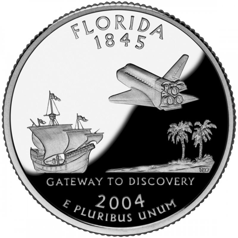 2004-S Florida Proof State Quarter