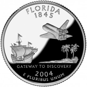 2004-S Florida Silver Proof State Quarter