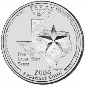 2004-P Texas State Quarter