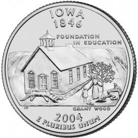 2004-D Iowa State Quarter