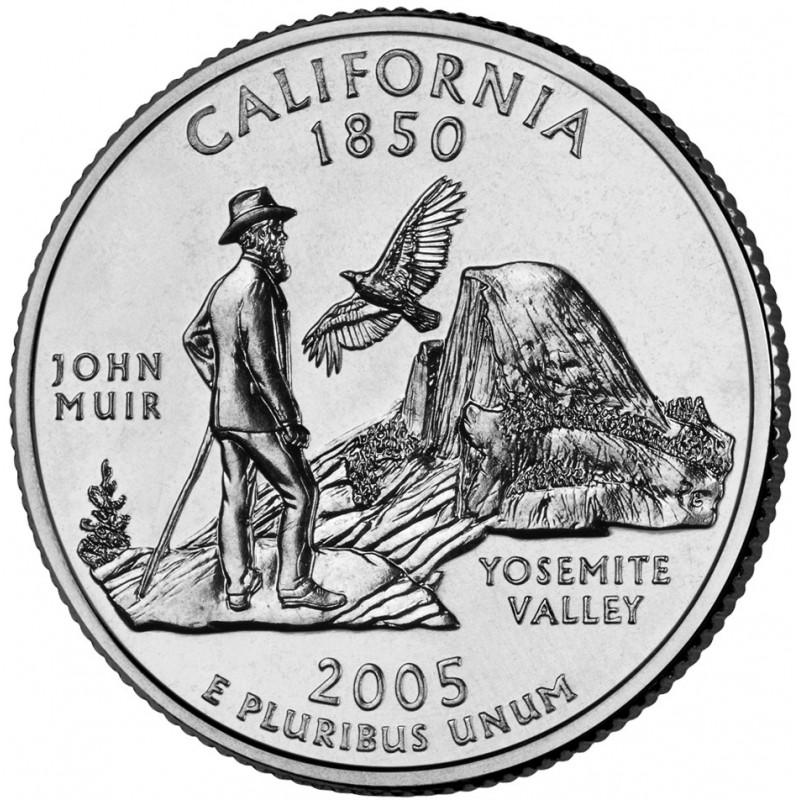 2005-P California State Quarter
