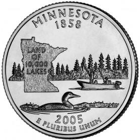 2005-P Minnesota State Quarter