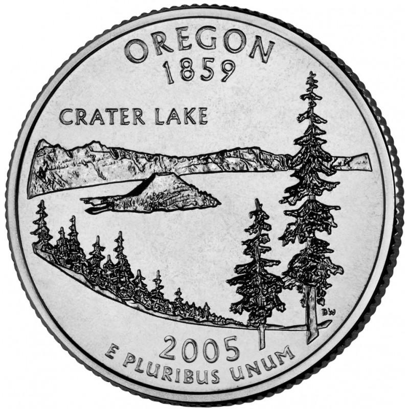 2005-D Oregon State Quarter