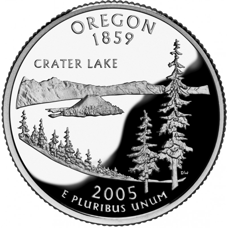 2005-S Oregon Proof State Quarter