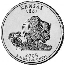 2005-D Kansas State Quarter