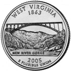 2005-D West Virginia State Quarter