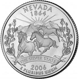 2006-P Nevada State Quarter