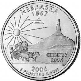 2006-P Nebraska State Quarter