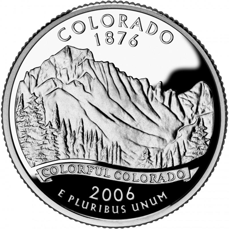 2006-S Colorado Proof State Quarter