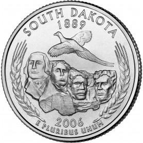 2006-P South Dakota State Quarter