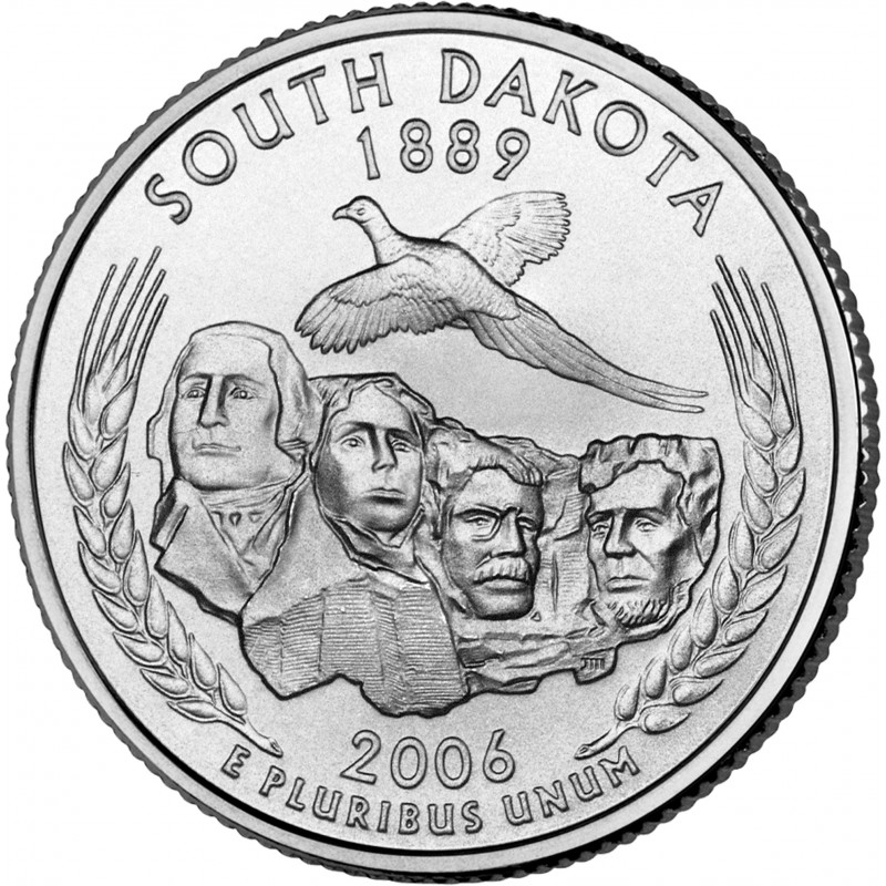 2006 P North Dakota State Quarter From Uncirculated Mint Sets Combined Shipping