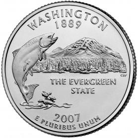 2007-P Washington State Quarter