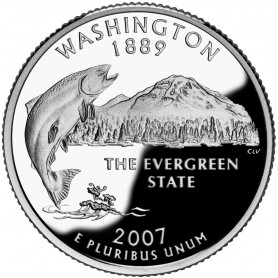 2007-S Washington Proof State Quarter