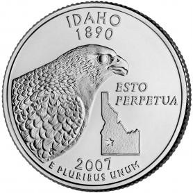 2007-P Idaho State Quarter
