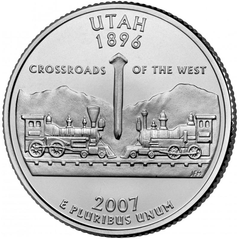 2007-P Utah State Quarter