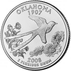 2008-D Oklahoma State Quarter