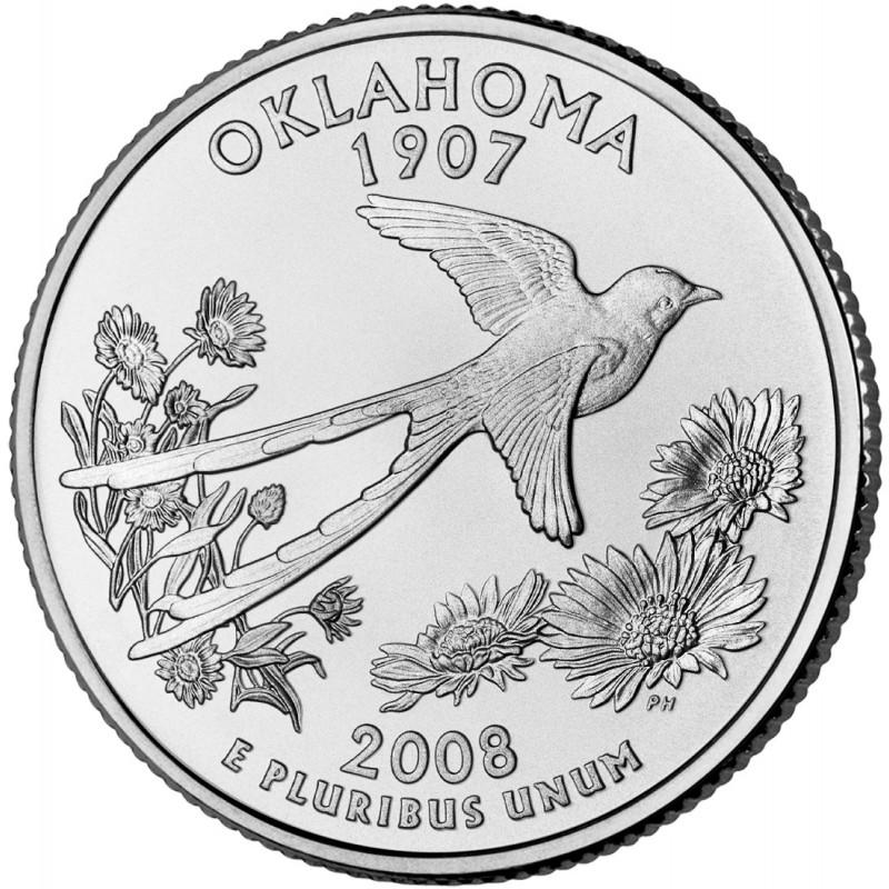 2008-P Oklahoma State Quarter