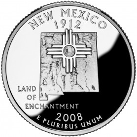 2008-S New Mexico Proof State Quarter