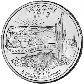 2008-P Arizona State Quarter