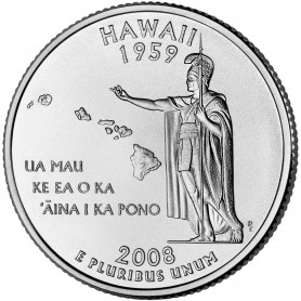 2008-P Hawaii State Quarter