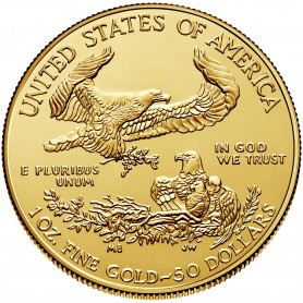 2019 1oz. American Gold Eagle (AGE)