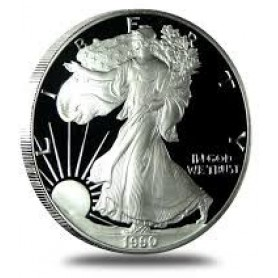 1990-S American Silver Eagle Proof 1 oz.